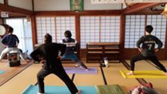 朝ヨガ(寺ヨガ 浜松市浜北区)