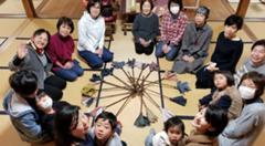 福応茶房vol.5~遠州綿紬を使ってはたき作り~